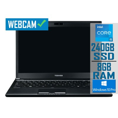 "Laptop Toshiba Tecra R950-185 15"" i5-3230M SSD 240GB/8GB Refurbished"