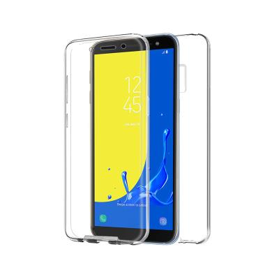 Capa Silicone Frente e Verso Samsung J6 2018 J600 Transparente