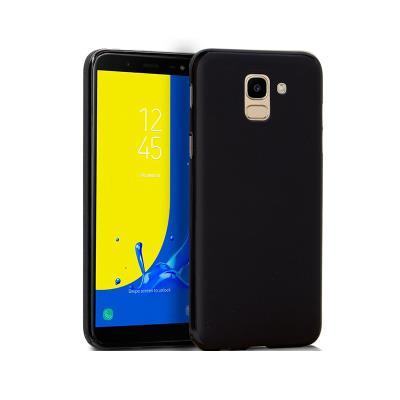 Funda Silicona Samsung J6 2018 Negro