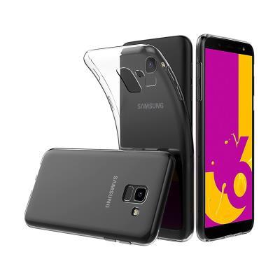 Funda Silicona Samsung J6 2018 Transparente