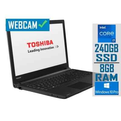 "Laptop Toshiba Satellite Pro R50-B-15Z 15"" i7-5500U SSD 240GB/8GB Refurbished"