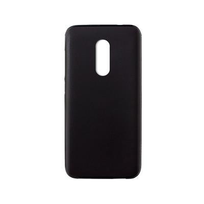 Capa Silicone Alcatel U5 Preta