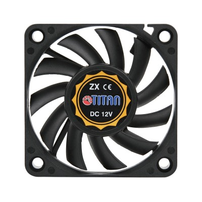 Fan Titan 3600RPM 60mm Black (TFD-6010L12Z)