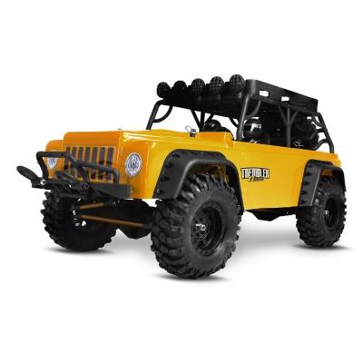 Carro Telecomandado Modster Trembler Elektro Brushless Crawler 4WD Amarelo