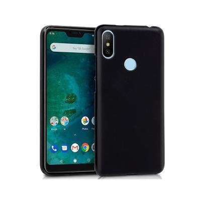 Funda Silicona Xiaomi Mi A2 Lite/6 Pro Negro