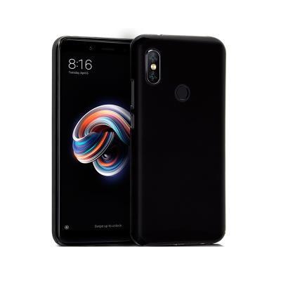 Capa Silicone Xiaomi Redmi Note 5/Note 5 Pro Preta