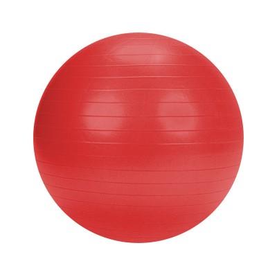 Bola de Pilates c/Bomba 75 cm Vermelha