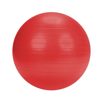 Pilates ball w/Pump 75 cm Red