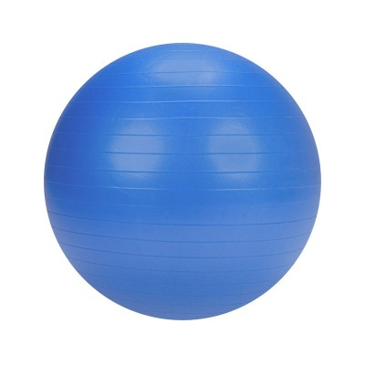 Pilates ball w/Pump 75 cm Blue
