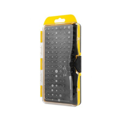 Conjunto de Chaves Rebel RB1103 100Bits Amarelo