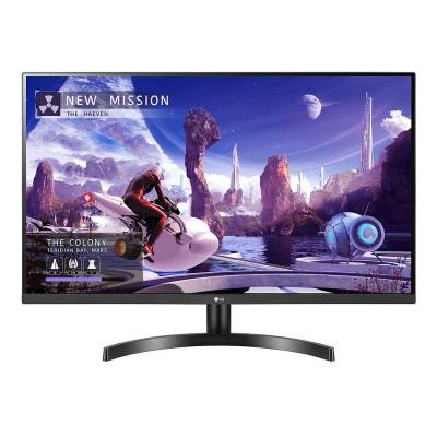 """Monitor LG 32"""" QHD Preto (32QN600-B)"""