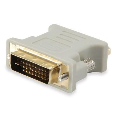 Adaptador Equip DVI-A para VGA (M/F) Bege (118945)