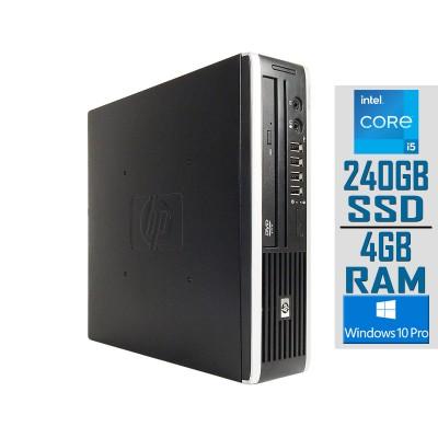 Desktop HP Compaq 8200 Elite USDT i5-2400S SSD 240GB/4GB Refurbished