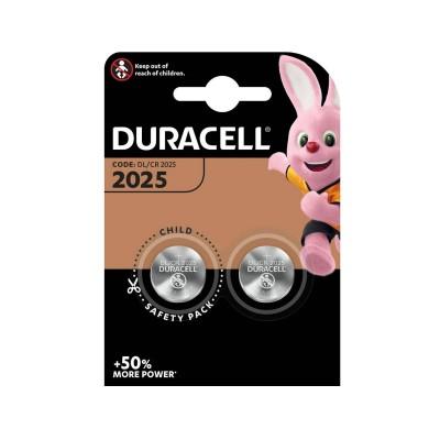 Batteries Duracell 2025 (DL/CR 2025)