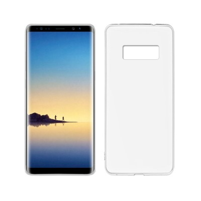 Silicone Cover Samsung Galaxy Note 8 N950 Matt Transparent