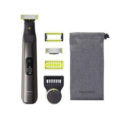 Máquina de Barbear Philips OneBlade Pro Face+Body Preto (QP6550/15)