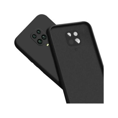Capa Silicone Xiaomi Note 9S/9 Pro Preta