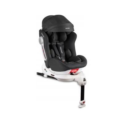 Cadeira Assento Auto Isofix Giratória Stigo 0-36 Kg Preta