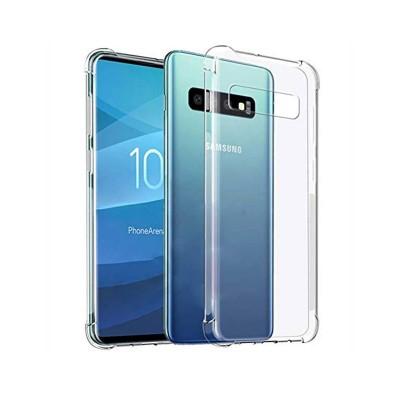 Anti-Shock Silicone Cover Samsung S10 Plus G975 Transparent