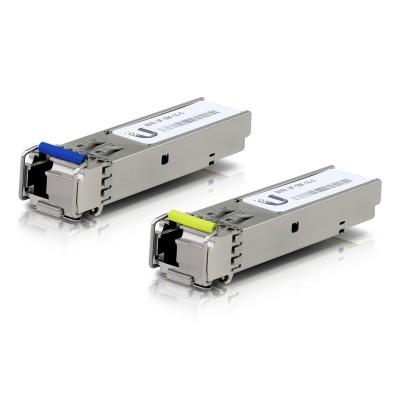 Pack 2 Fiber Transceiver Modules Ubiquiti 1G SFP+ (UF-SM-1G-S)