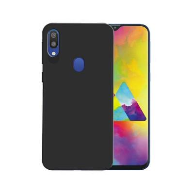 Silicone Cover Samsung M20 M205 Black