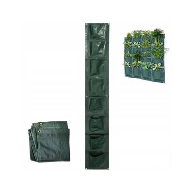 Sacos de Plantação Parede (8 Bolsos)