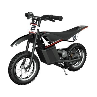Electric Motorcycle Razor MX125 Dirt Rocket 12V Black