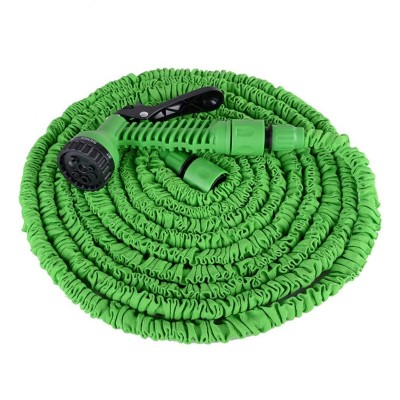 Garden Hose Extendable 15m w/Pistol Green