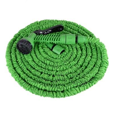 Mangueira de Jardim Extensível 15m c/Pistola Verde