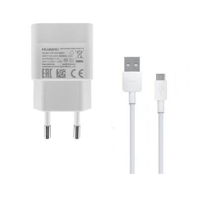 Carregador Huawei Micro USB 5V/1A Branco (HW-050100E01W)