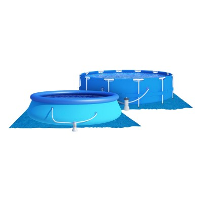 Pool Mat DM-126 518x377 cm Blue