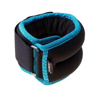 Ankle and Wrist Weights Set 2x 0.5kg Black/Blue