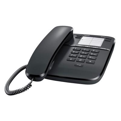 Teléfono Fijo Siemens DA410 Negro