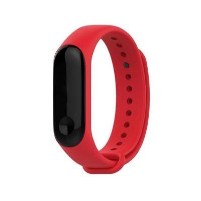 Silicone Bracelet Xiaomi Mi Band 3/4 Red