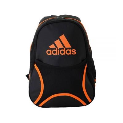 Mochila Adidas Backpack Club Preta/Laranja