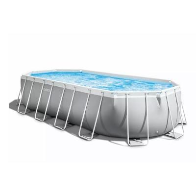Pool Intex 26798NP Oval Prisma 610x305x122 cm w/Filter Pump