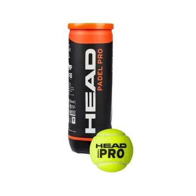 Padel Balls Set Head Padel Pro 3 Units