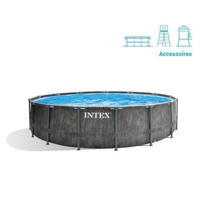 Piscina Intex 26742 457x122 cm c/Bomba de Filtro