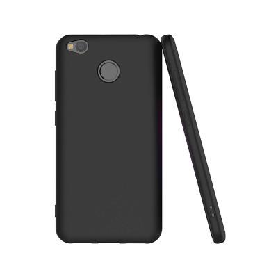 Funda Silicona Original Xiaomi Redmi 4X Negro