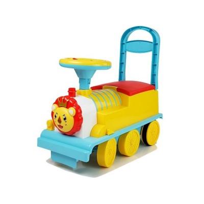 Comboio Andador Elétrico Amarelo/Azul