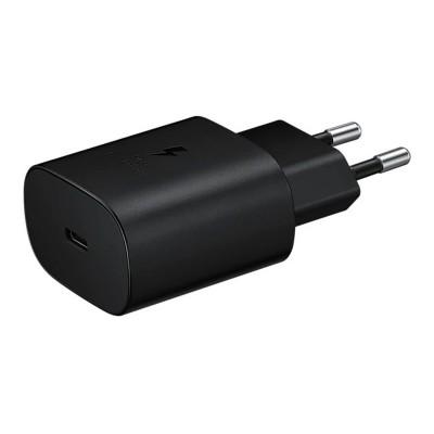 Adaptador de Corrente Samsung USB-C Super Fast Charging 25W Preto (EP-TA800NBEGEU)