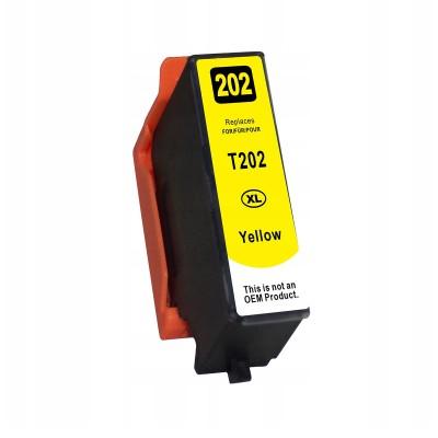 Tinteiro Compatível Epson EI-T202XL Amarelo