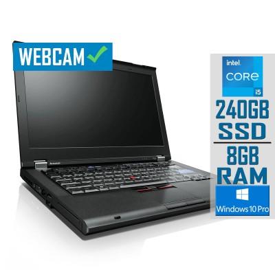 "Lenovo ThinkPad T430 14"" i5-3320M SSD 240GB/8GB Refurbished"
