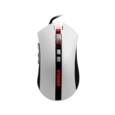 Gaming Mouse Woxter Stinger RX 1500 M 4000 DPI White