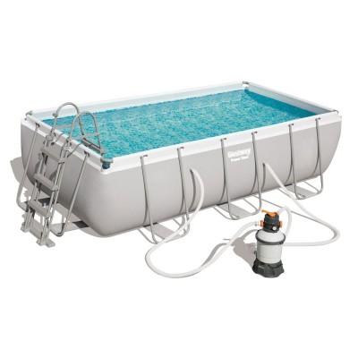 Pool Bestway Power Steel 56442 404x201x100 cm w/Pump of Sand