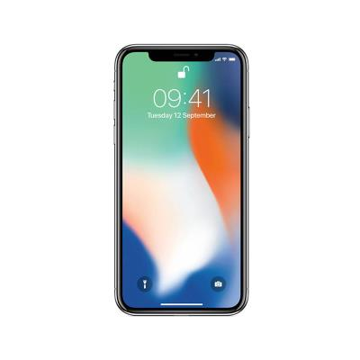 IPHONE X 256GB/3GB SILVER USED