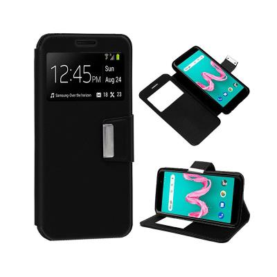 Flip Cover Case Wiko Lenny 5 Black