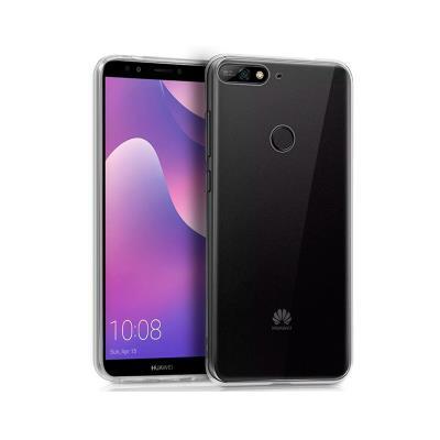 Funda Silicona Huawei Y7 2018 / Honor 7C Transparente