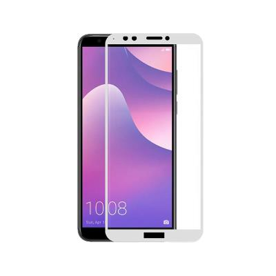 HUAWEI Y7 2018/HONOR 7C 3D WHITE TEMPERED GLASS FILM