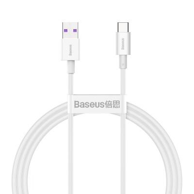 Cabo Dados Baseus Superior Series USB-C  1m Branco